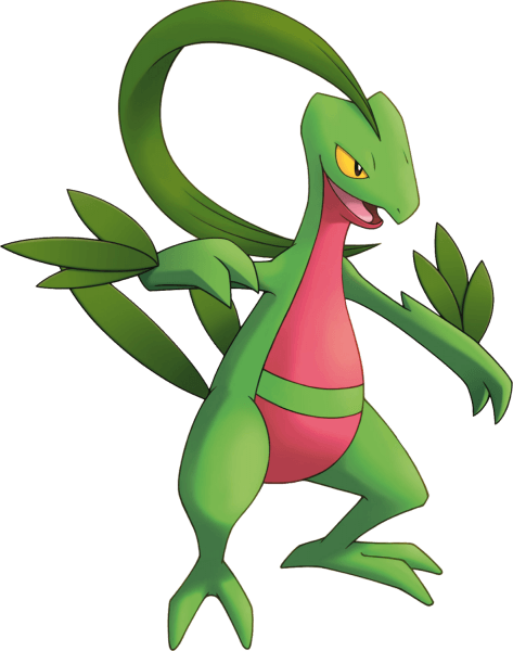 Grovyle Pokemon Mystery Dungeon Explorers of Sky