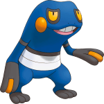 453Croagunk Pokemon Mystery Dungeon Explorers of Sky