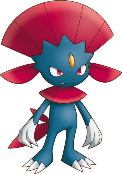 Weavile Pokemon Mystery Dungeon Explorers of Sky