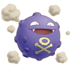 109Koffing Pokemon Mystery Dungeon Explorers of Time and Darkness