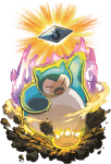 Snorlax Pulverizing Pancake artwork