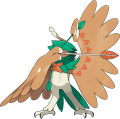 Sun Moon Decidueye Z Move artwork