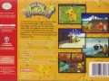 us hey you pikachu nintendo 64 back cover