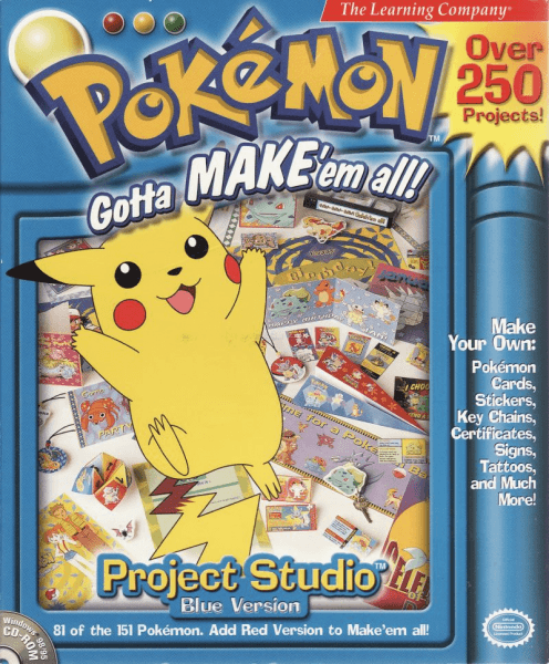 Pokemon Project Studio Blue Box