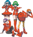 XY Team Flare Scientists