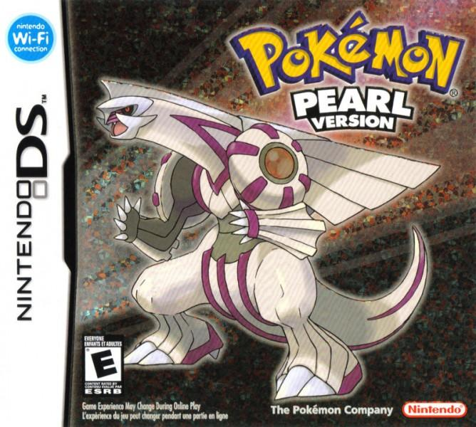Pokemon Pearl Box Art