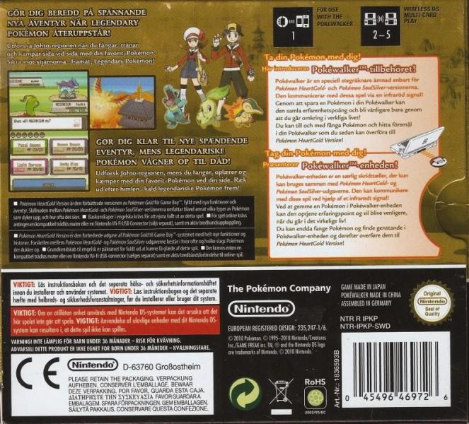 denswe pokemon heartgold version nintendo ds back cover