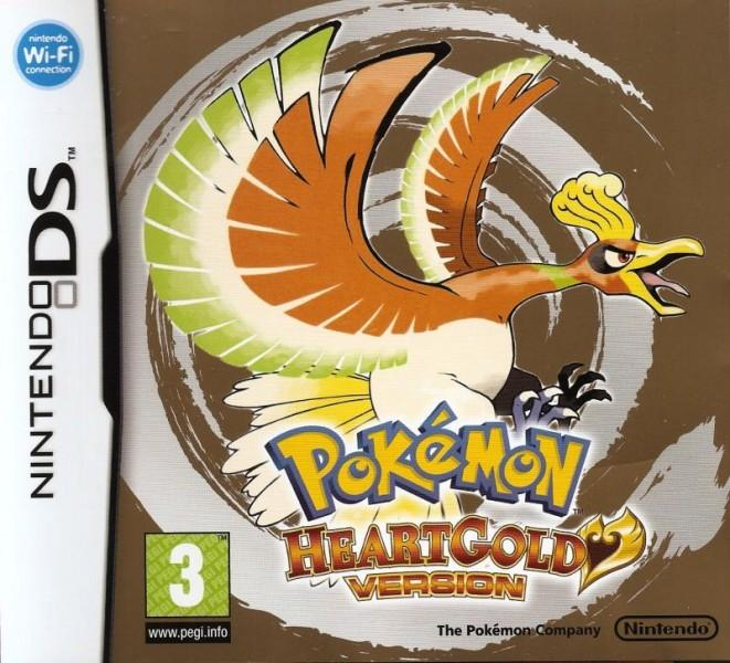 Pokemon HeartGold Box