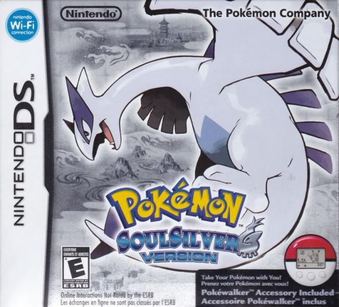 Pokemon SoulSilver Box