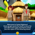 786292 camp pokemon ipad screenshot meeting the camp counselors