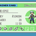 463794 pokemon emerald version game boy advance screenshot trainer