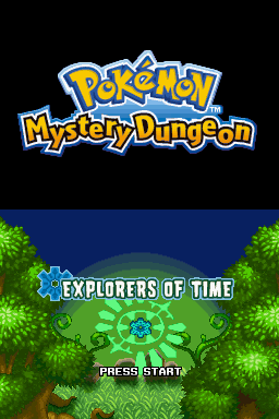 620276 pokemon mystery dungeon explorers of time nintendo ds screenshot