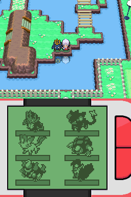 792632 pokemon platinum version nintendo ds screenshot taking a walk