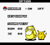 128923 pokemon pinball game boy color screenshot options menu starring