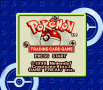 606625 pokemon trading card game game boy color screenshot title