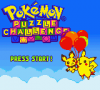 86510 pokemon puzzle challenge game boy color screenshot title screen