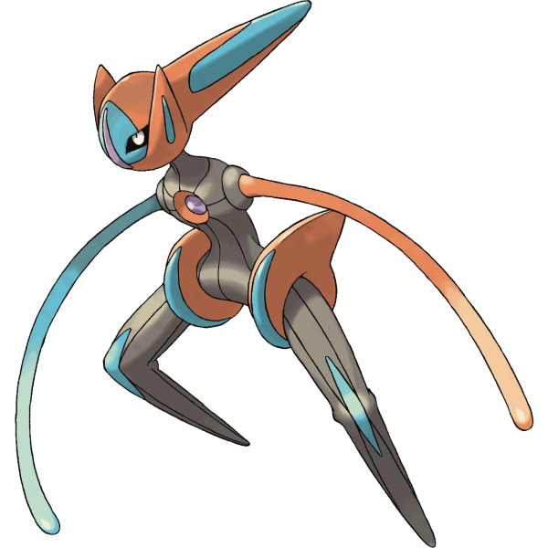 Deoxys in it's speed forme
