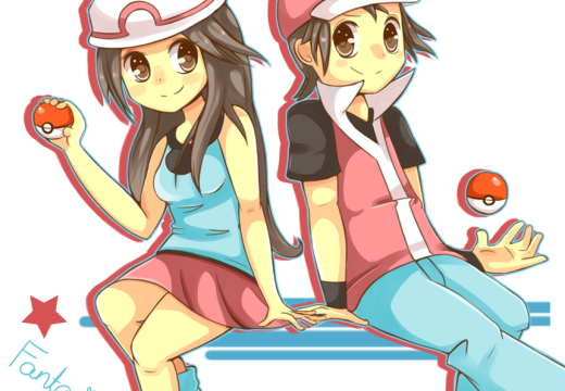 Male & Female Pokémon Trainers