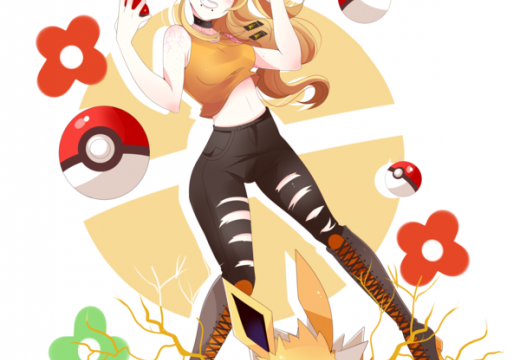 Lulu and her Jolteon