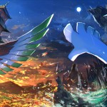 Ho Oh and Lugia