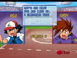 Stage 1 Battle Ash vs Gary begins