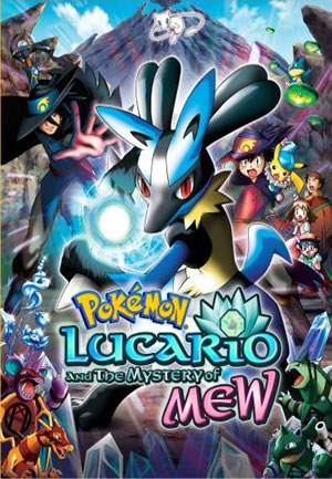 Pokemon Lucario and the Mystery of Mew Cover
