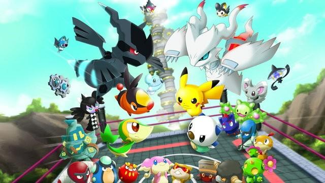 Official Concept Art of Pokemon Rumble Blast