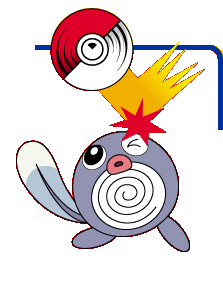 Poliwag in Pokemon Pinball
