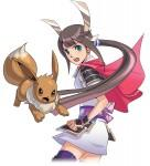 pc heroine and eevee