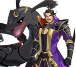 pc nobunaga and black rayquaza